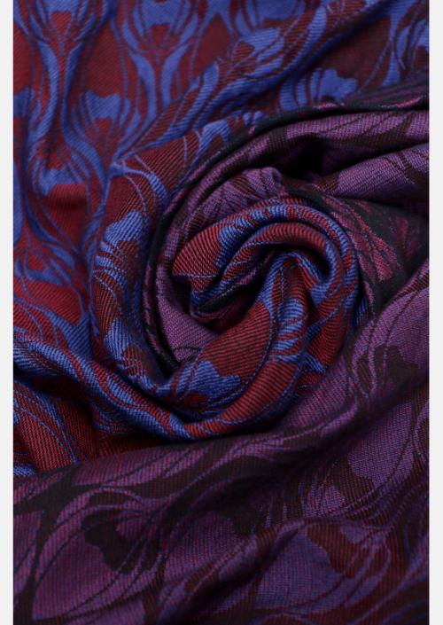 Ringsling Yaro La Fleur Duo Fuchsia Blue Meta Wool