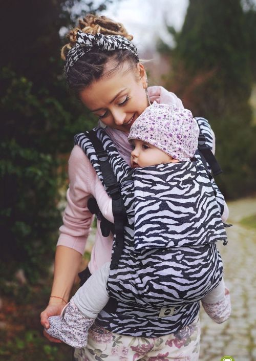 Little Frog Toddler Carrier Zebra