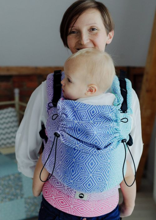 Little Frog Baby Carrier Aurora Cube