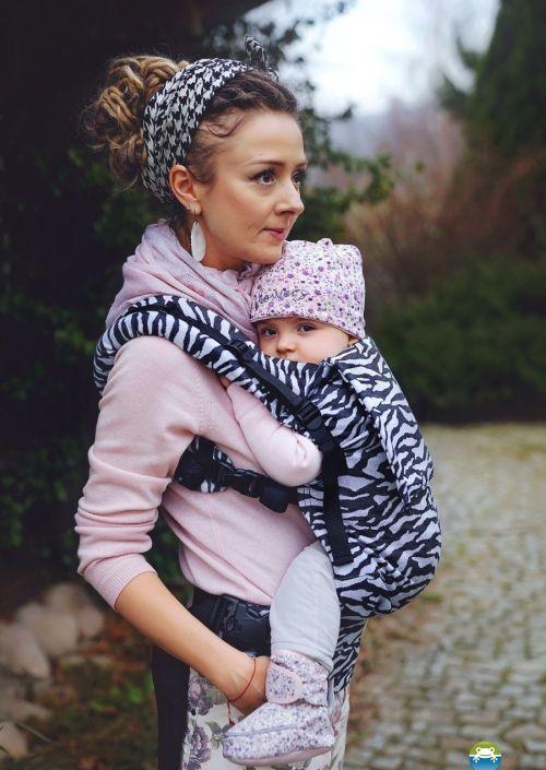 Little Frog Toddler Carrier Zebra