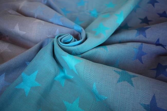 Yaro Stars Aqua Grad Grey