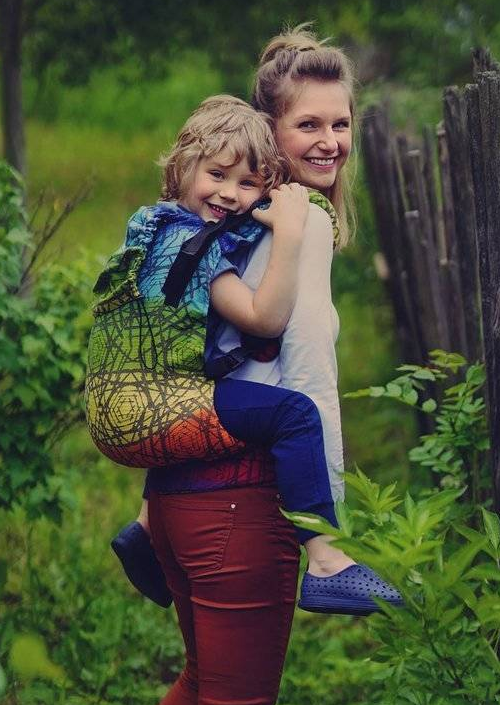 Little Frog XL Toddler Carrier Prismatic Abyss