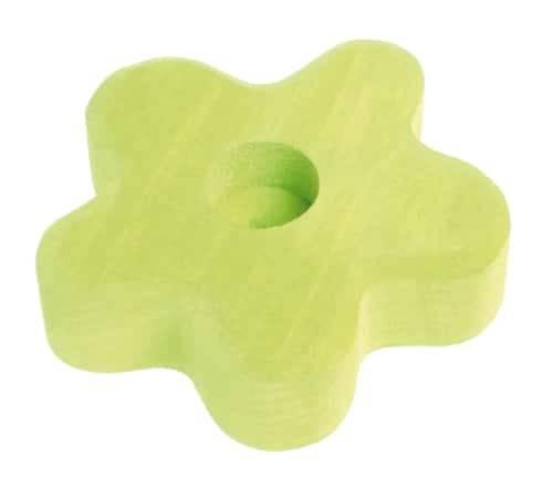 Grimm's stekerhouder bloem licht groen klein