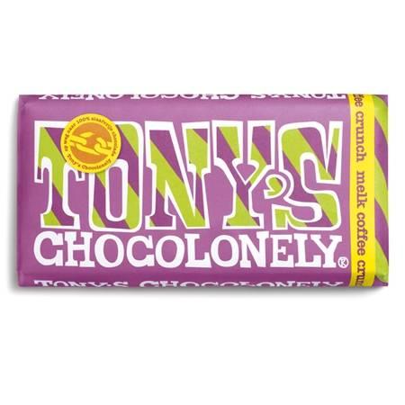 Tony Chocolonely Melk Coffee Crunch
