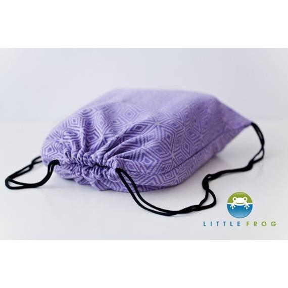 Draagdoektasje Little Frog Lavender Cube