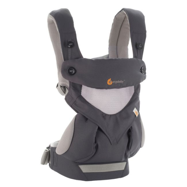 Ergobaby 360 Carrier Cool Air Carbon Grey