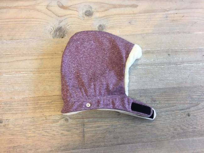 Isara Winter Cover Hood Wild Cherry Melange