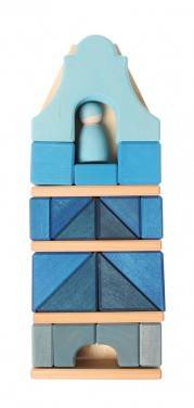 Grimm's Dakgevelhuis Blauw