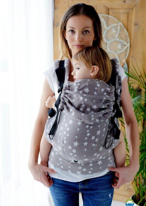 Little Frog Toddler Carrier Beige Stars