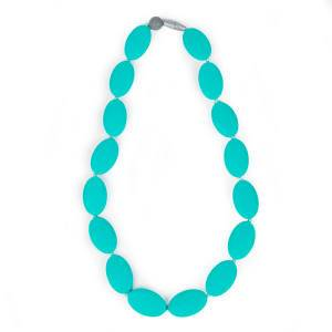 Itzy Ritzy Ketting Pebble Turquoise