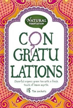 Natural Temptation Tea Congratulations
