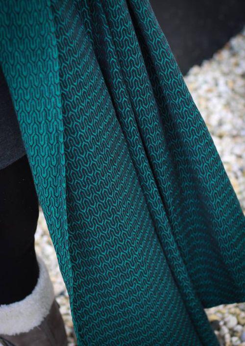 Yaro Turtle Emerald Black