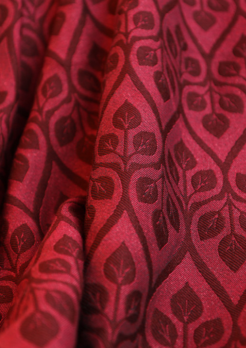 Ringsling Yaro La Vita Duo Bordeaux Red Wool Glam