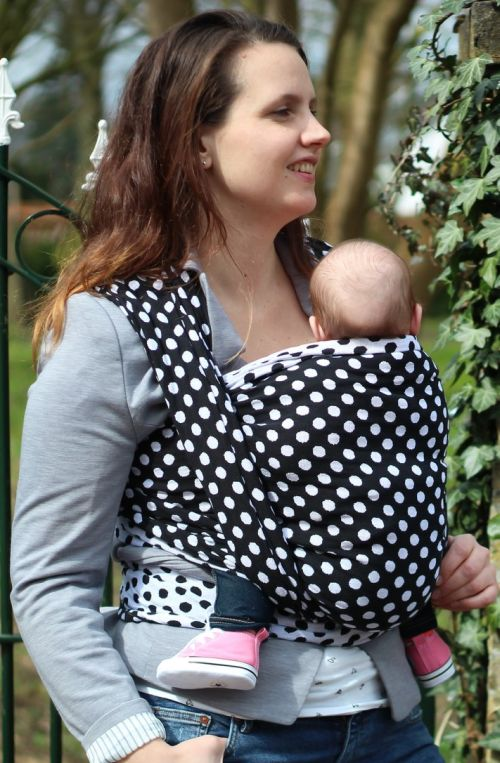Yaro Polka Dot Contra Black White