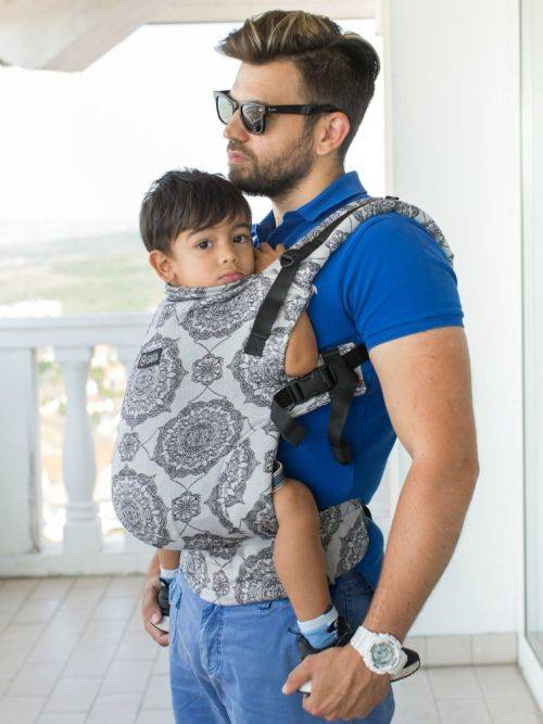 Isara V3 Kaleidoscopix Silver Grey Toddler Full Wrapconversion