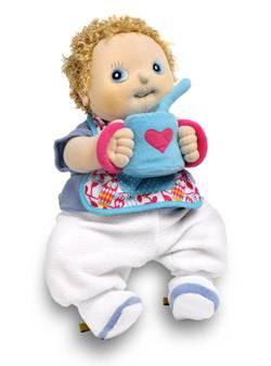 Rubens Baby Erik met eetsetje