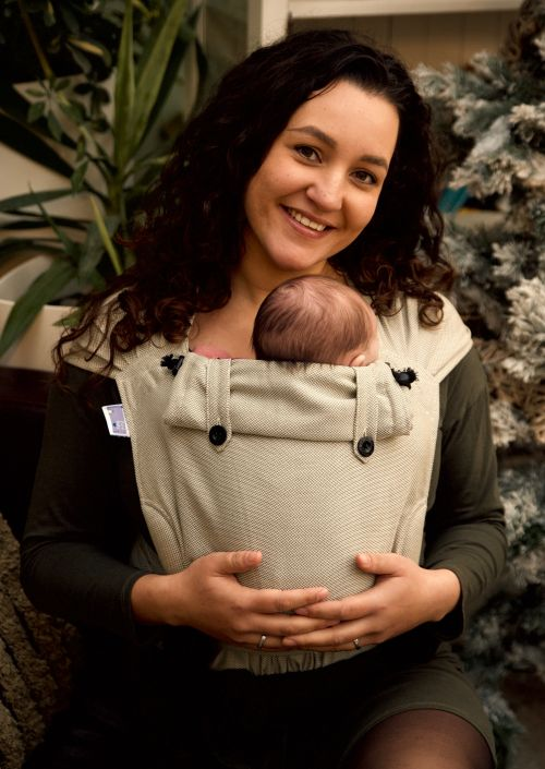 Pure Baby Love Wrap & Go Baby Olive