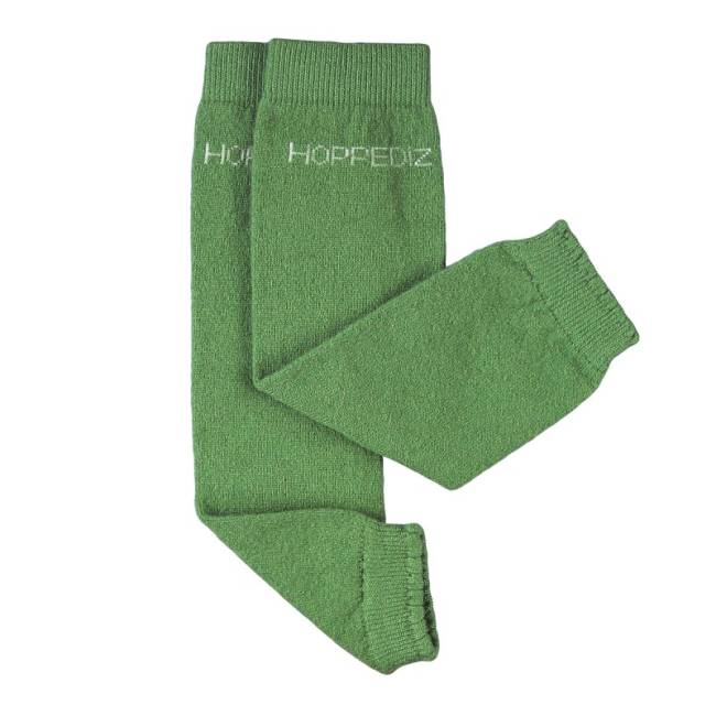 Hoppediz Beenwarmers Groen