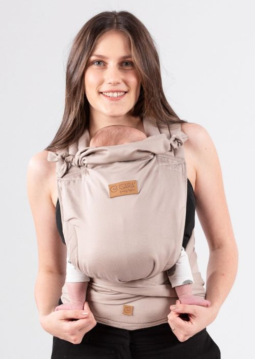 Isara Quick Half Buckle Carrier Caffe Latte