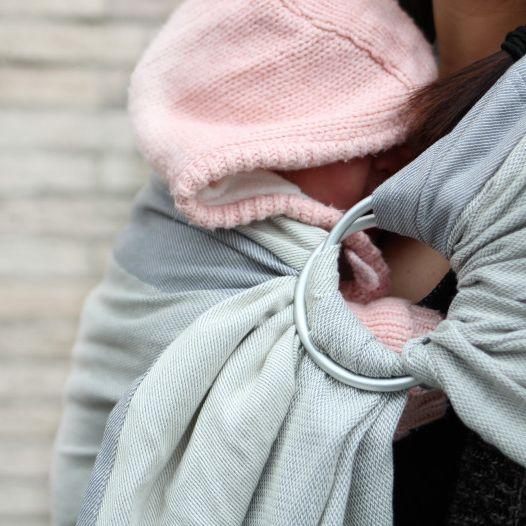 Ringsling Yaro Newborn Grey