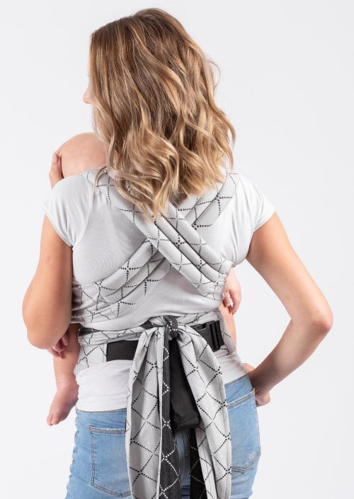 Isara Quick Half Buckle Carrier Diamonda Silver Grey