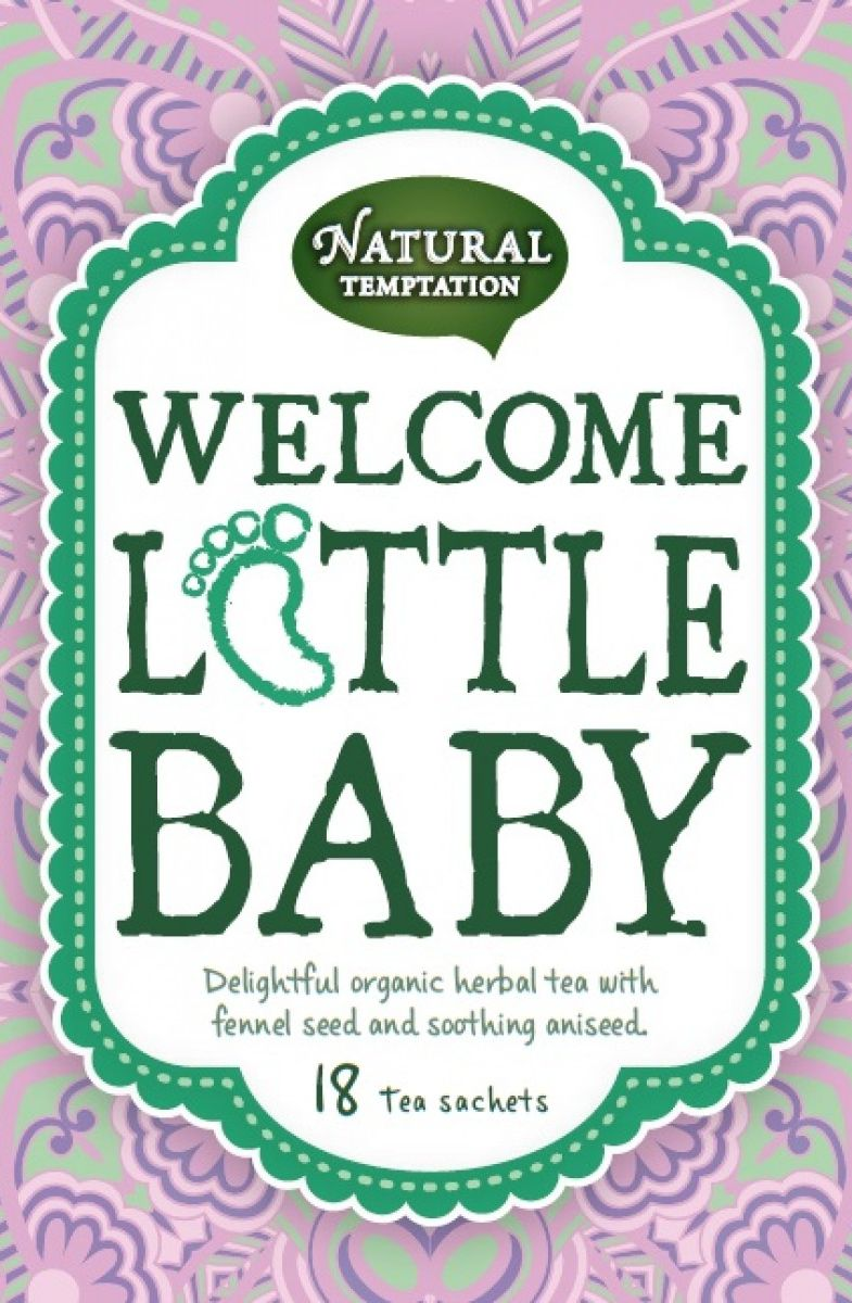 Natural Temptation Tea Welcome Little Baby