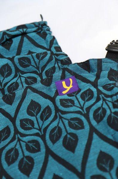 Yaro Flex Baby Carrier La Vita Blue-Black Linen