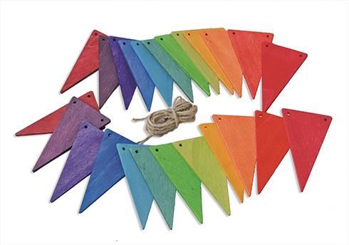Grimm's Vlaggenlijn Regenboog
