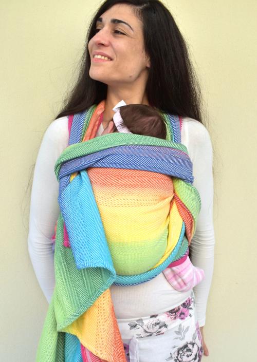 Didymos Lisca White Rainbow