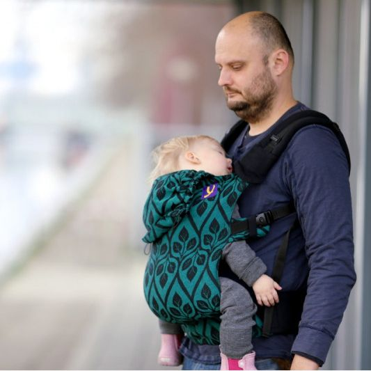 Yaro Flex Toddler Carrier La Vita Emerald Black