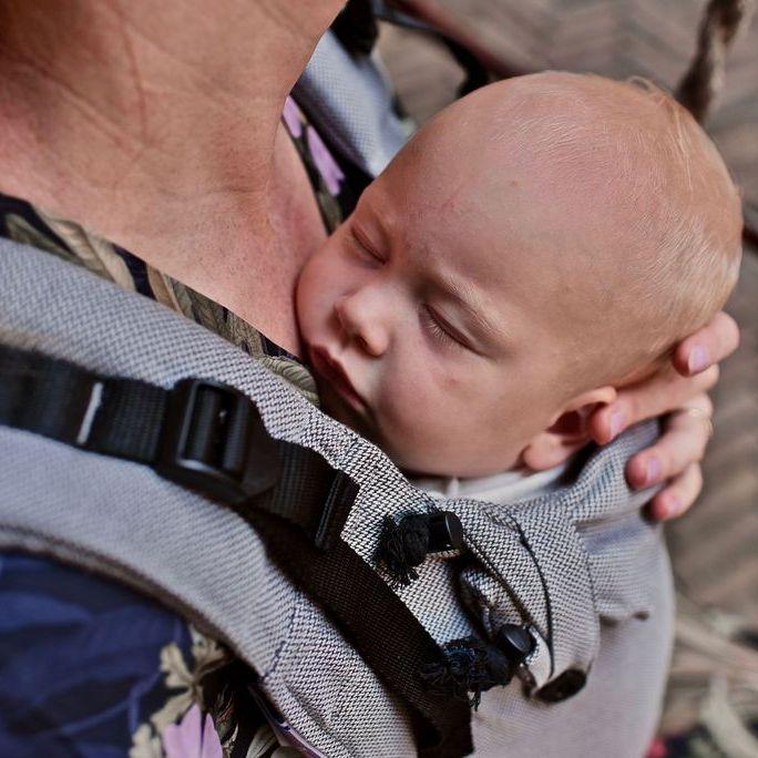 Pure Baby Love Click & Go Toddler Dark Grey