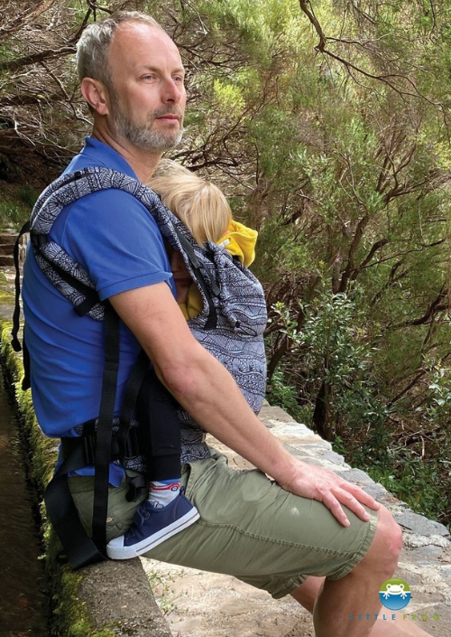 Little Frog Toddler Carrier Carbon Harmony