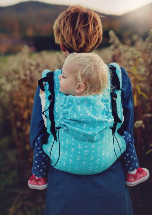 Doekenbieb: Little Frog Toddler Carrier