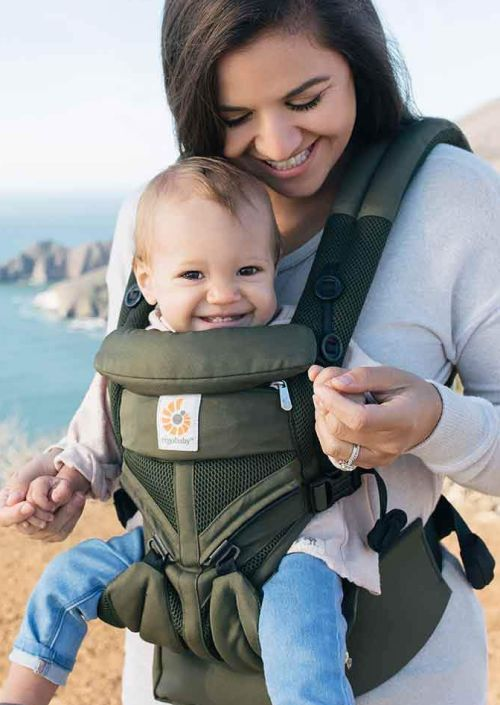 Ergobaby Carrier OMNI 360 Cool Air Mesh Khaki Green