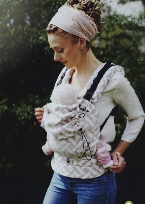 Little Frog Baby Carrier Sandy Dust