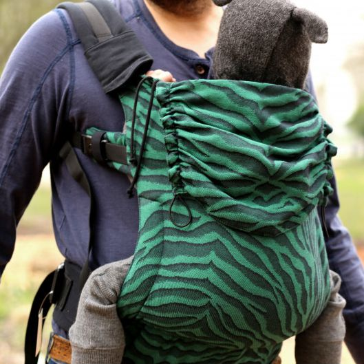 Yaro Flex Baby Carrier Tiger Black Green