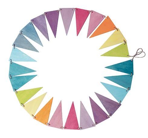 Grimm's Vlaggenlijn Pastel