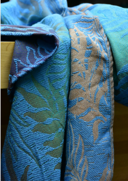 Ringsling Yaro Oasis Puffy Aqua Grad Blue Bronze Seacell
