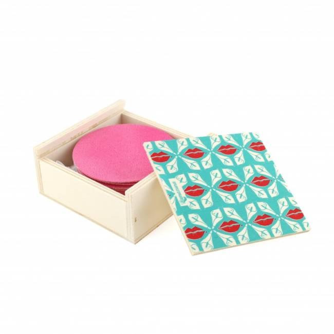 Lamazuna Wasbare Wattenschijfjes - Box van 20