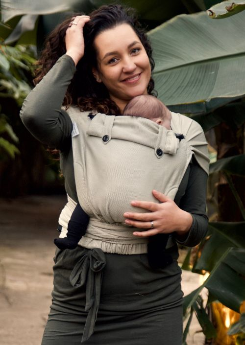 Doekenbieb Pure Baby Love Wrap & Go Baby