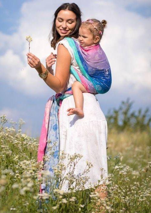 Beloved Slings Linen & Silk Windy Seeds