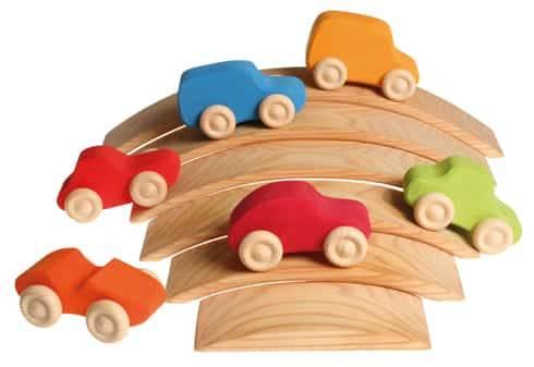 Grimm's 6 Gekleurde Auto's