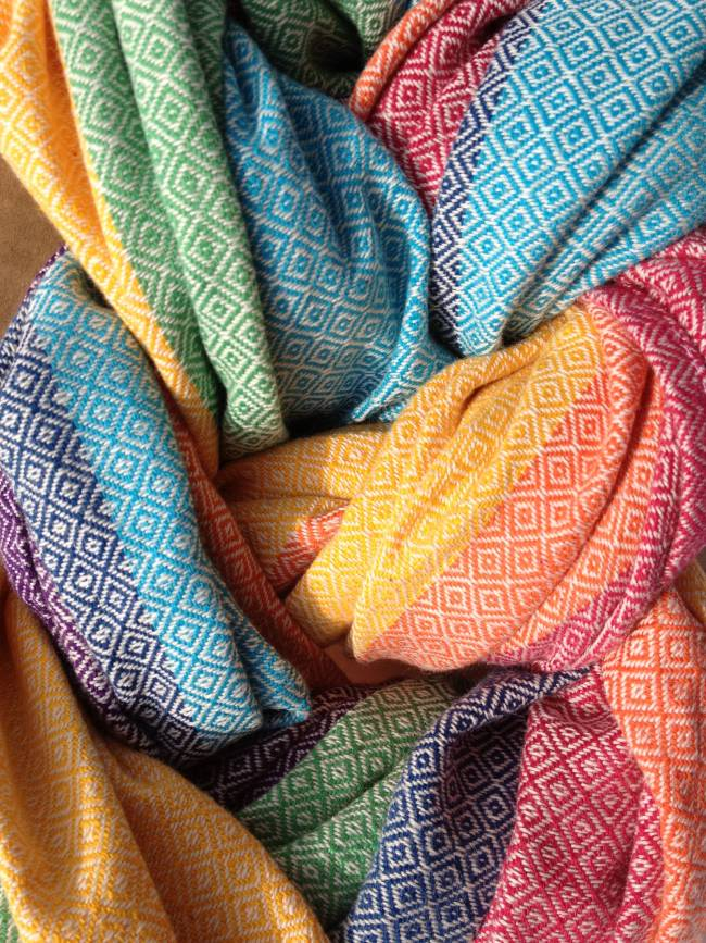 Ringsling Girasol Diamond Light Rainbow