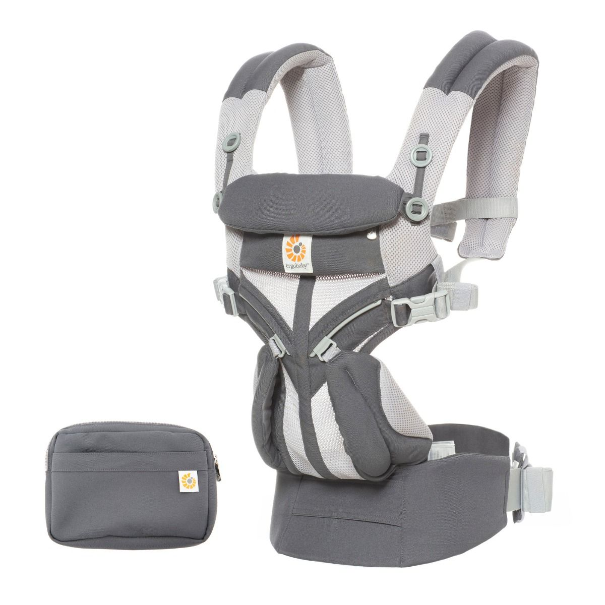 Ergobaby Carrier OMNI 360 Cool Air Mesh Carbon Grey
