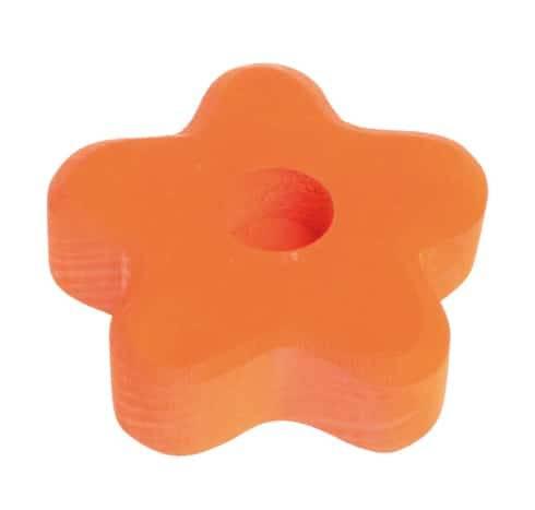 Grimm's stekerhouder bloem oranje klein