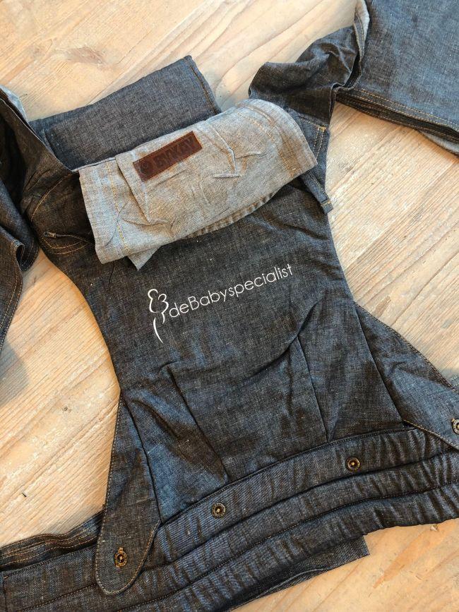 ByKay Mei Tai Dark Jeans met logo 'De Babyspecialist'