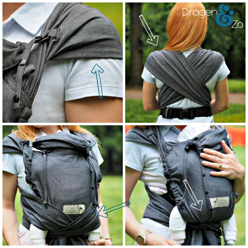 Storchenwiege WrapBabyCarrier